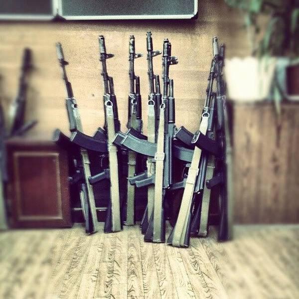 Rifles Photograph - #ак47 #russian #gun #sturm #rifle by Grigory Karpov