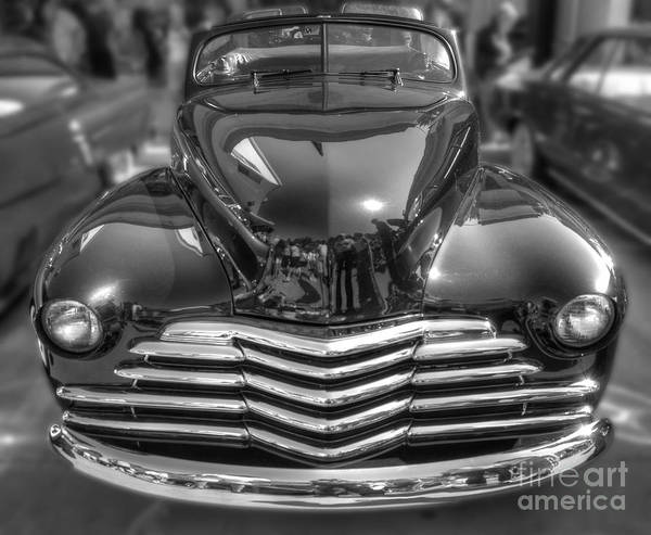 48 Chevy Convertible Art Print