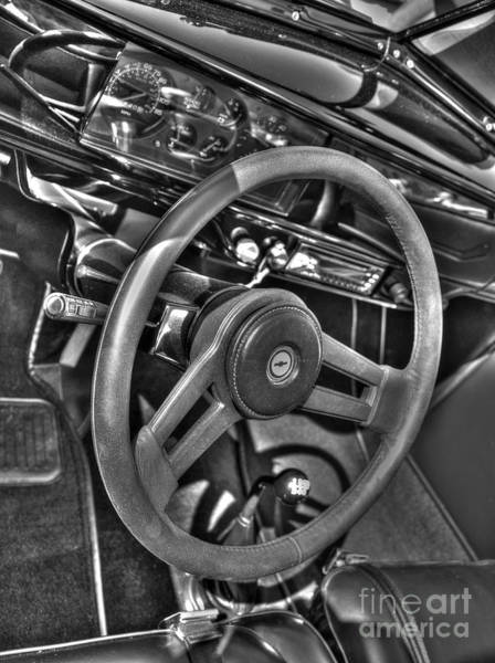 Photograph - 48 Chevy Convertible Interior by Anthony Wilkening
