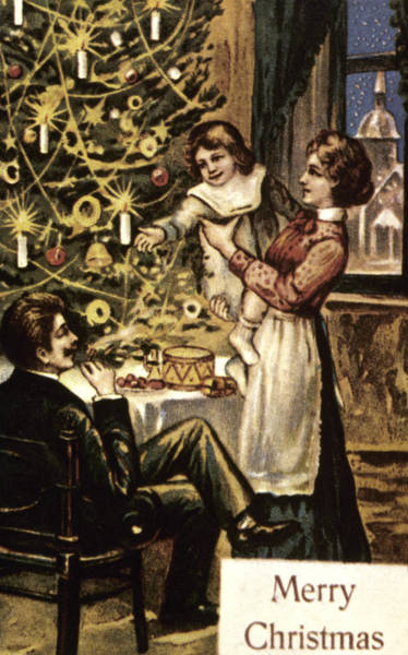 Photograph - American Christmas Card by Granger
