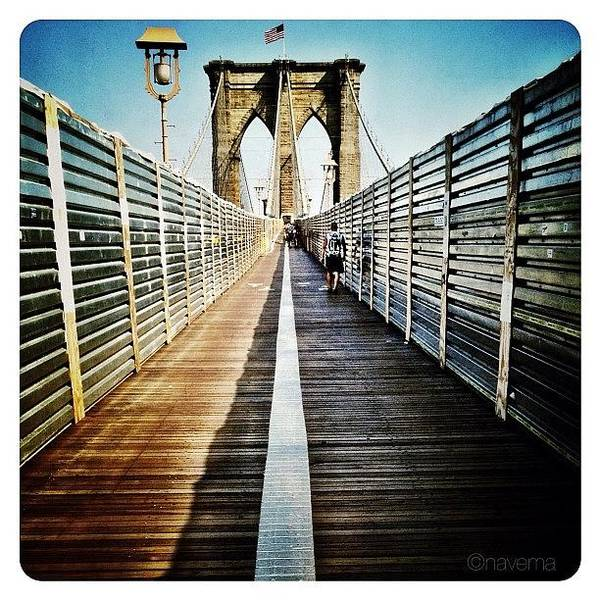 Wall Art - Photograph - Brooklyn Bridge by Natasha Marco