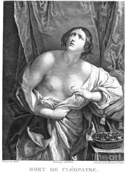 Asps Photograph - Cleopatra Vii (69-30 B.c.) by Granger