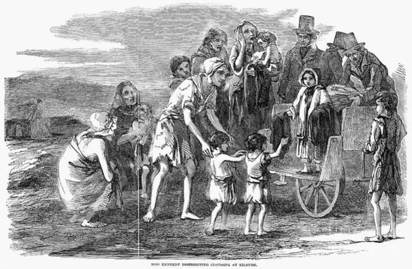 Photograph - Irish Potato Famine, 1846-7 by Granger