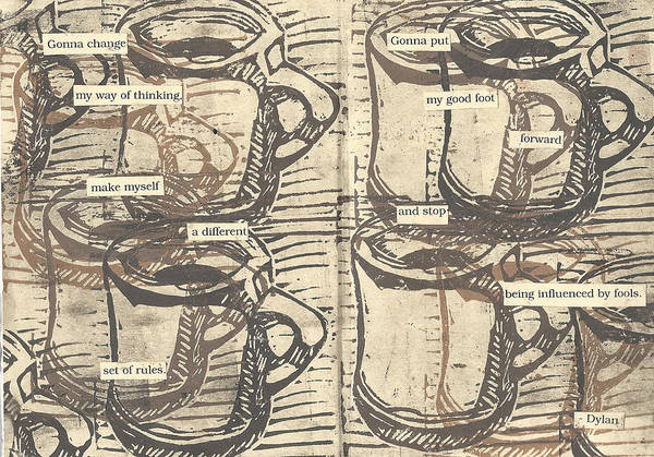 Mixed Media - Java by William Cauthern
