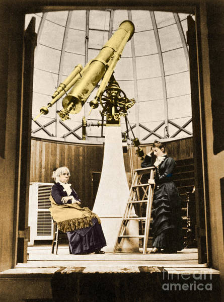 Photograph - Maria Mitchell American Astronomer by Science Source