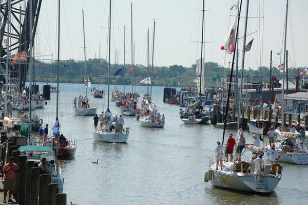 Photograph - Port Huron To Mackinac Island Race by Randy J Heath