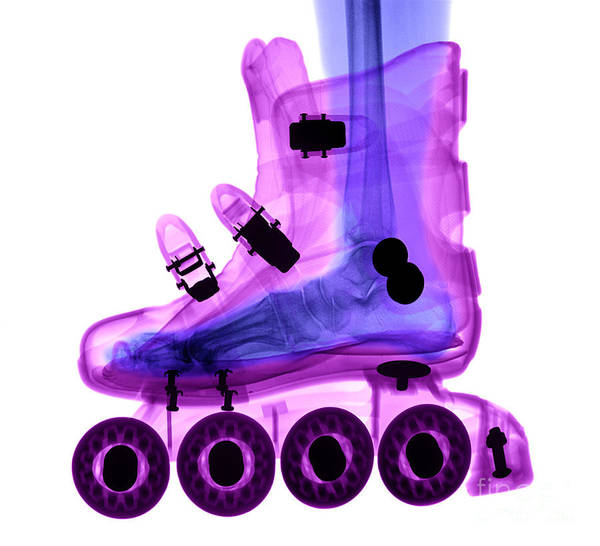 Photograph - Rollerblade Boot by Ted Kinsman