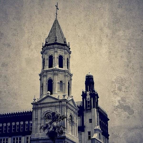 Religious Wall Art - Photograph - Spanish Fl - St. Augustine by Joel Lopez