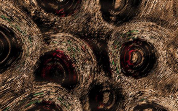 Art Print featuring the digital art The Spirals by Mihaela Stancu