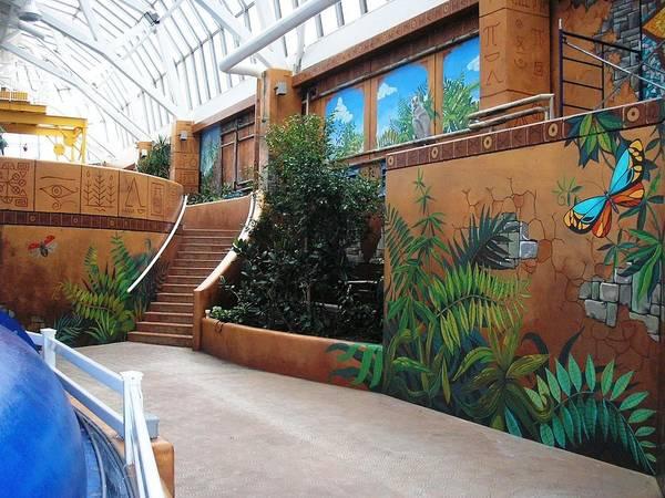 Painting - Waterpark Mural by Igor Postash