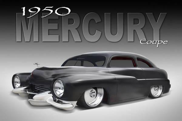 50 Mercury Coupe Art Print