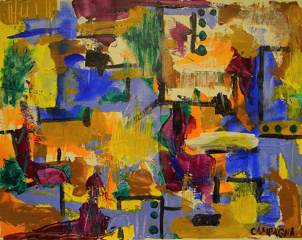 Painting - Untitled by Teddy Campagna