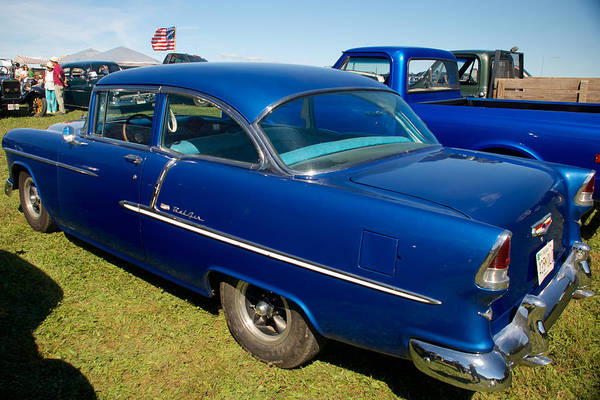 Photograph - 55 Chevrolet Bel Air by Mark Dodd