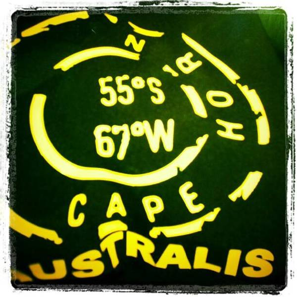 Run Wall Art - Photograph - 55 South, 67 West. Cruceros Australis by Hit And Run History
