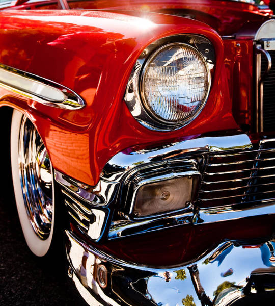 Wall Art - Photograph - 56 Chevy In The Sun by Patrick  Flynn