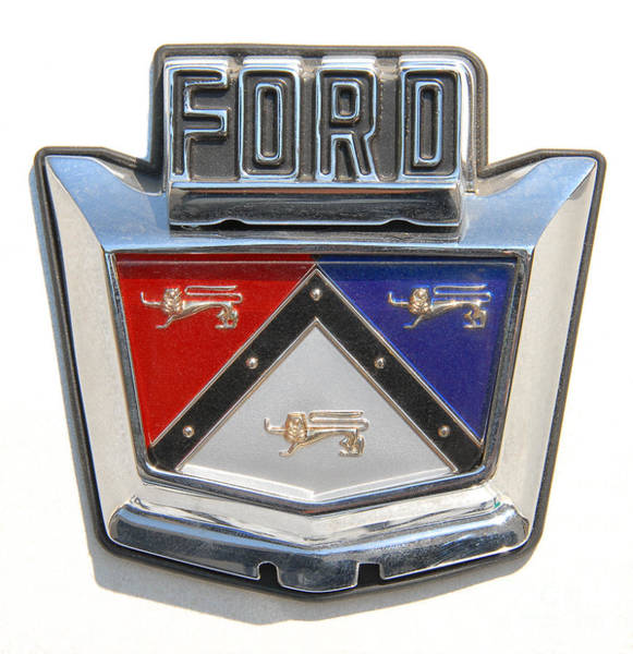 Photograph - 57 Ford Emblem by Anthony Wilkening