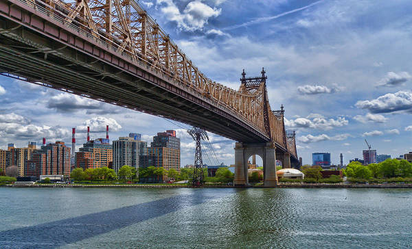 Photograph - 59 Th Street Bridge by Steve Zimic