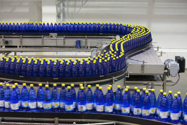 Wall Art - Photograph - A Drinks Bottling Plant In Estonia by Jaak Nilson
