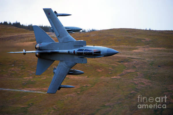 Mach Loop Photograph - A Royal Air Force Tornado Gr4 by Andrew Chittock