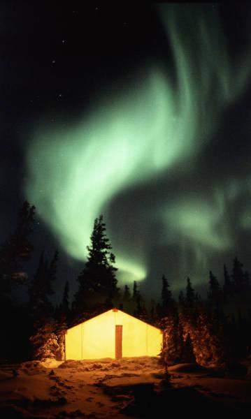 Camping Photograph - Aurora Borealis by Chris Madeley