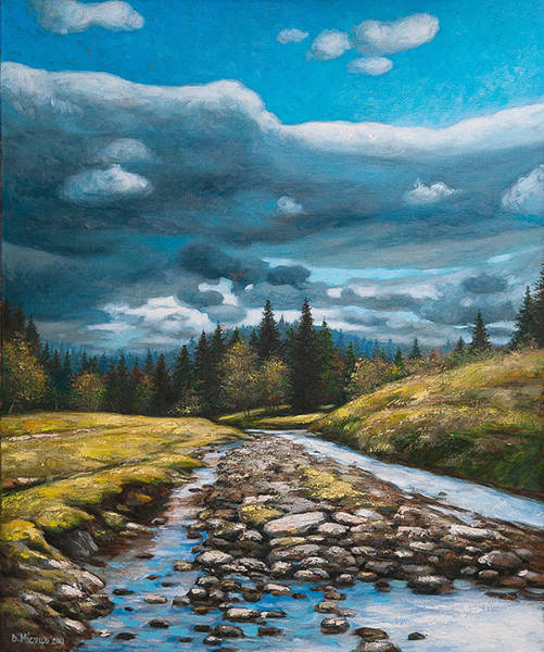 Follow Me Painting - Beauty Of Nature by Vladimir Misyts