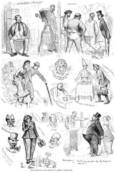 Foreigners Wall Art - Photograph - Centennial Fair, 1876 by Granger