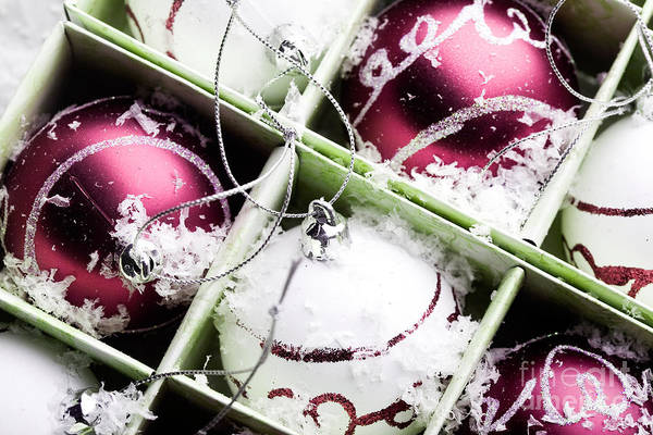 Wall Art - Photograph - Christmas Ornaments by Kati Finell
