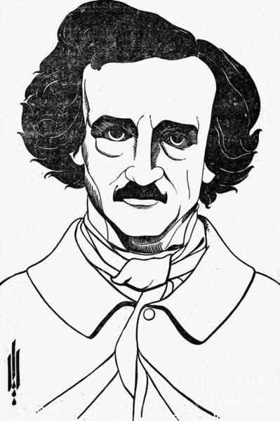 Photograph - Edgar Allan Poe (1809-1849) by Granger