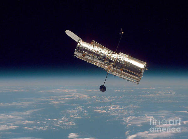 Photograph - Hubble Space Telescope by Nasa