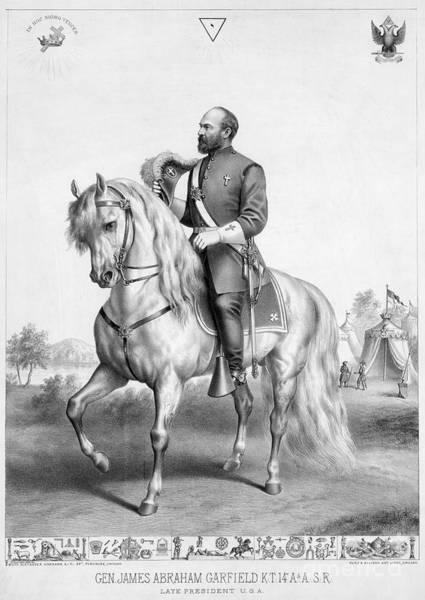 Allison Photograph - James A. Garfield (1831-1881) by Granger