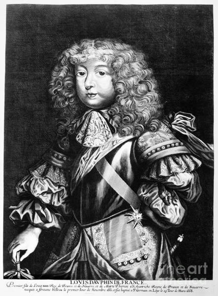 Wall Art - Photograph - Louis, Dauphin Of France by Granger