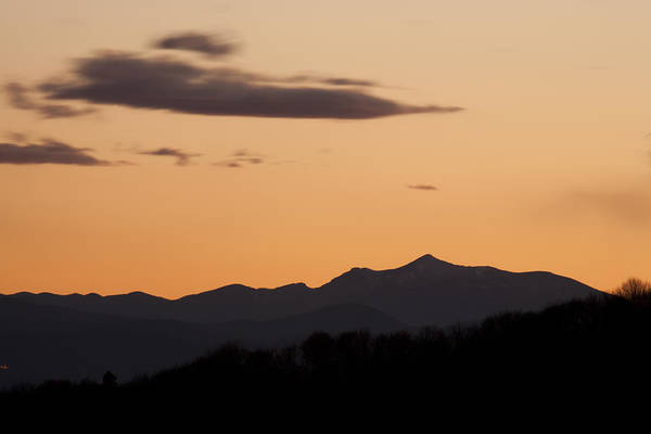 Jance Photograph - Mountain Sunset by Ian Middleton