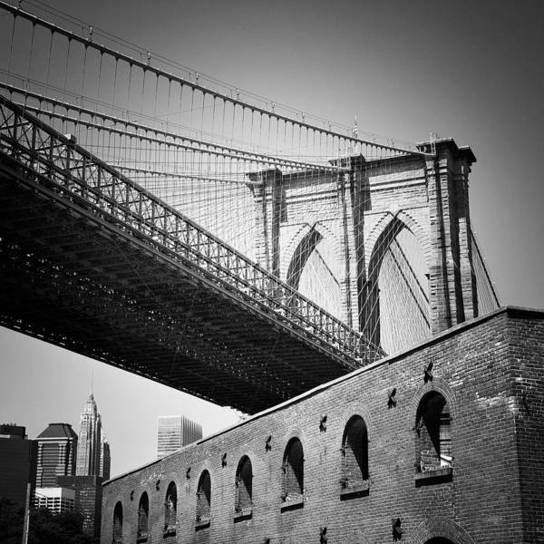 Wall Art - Photograph - Nyc Brooklyn Bridge by Nina Papiorek