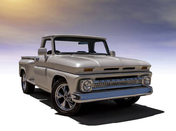 Chevy Digital Art - '66 Chevy Pickup by Douglas Pittman