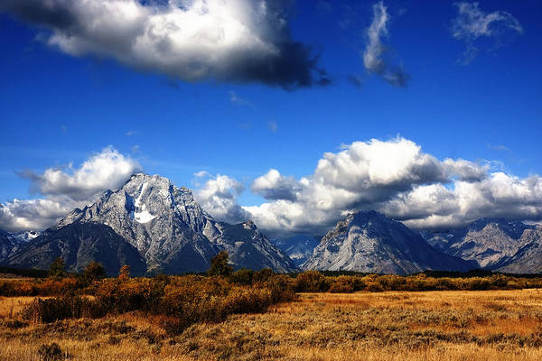Photograph - Grand Teton National Park by Mark Smith