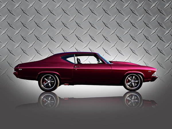 Chevrolet Digital Art - '69 Chevelle by Douglas Pittman