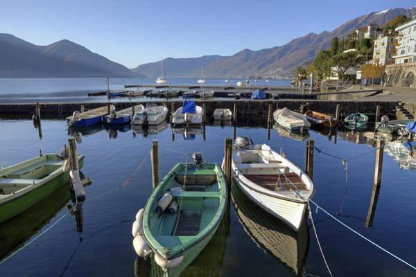 Motor Boat Photograph - Ascona - Lake Maggiore by Joana Kruse