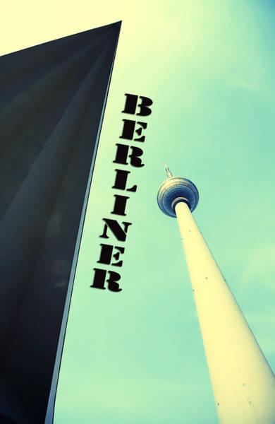 Tv Tower Photograph - Berlin Tv Tower by Falko Follert