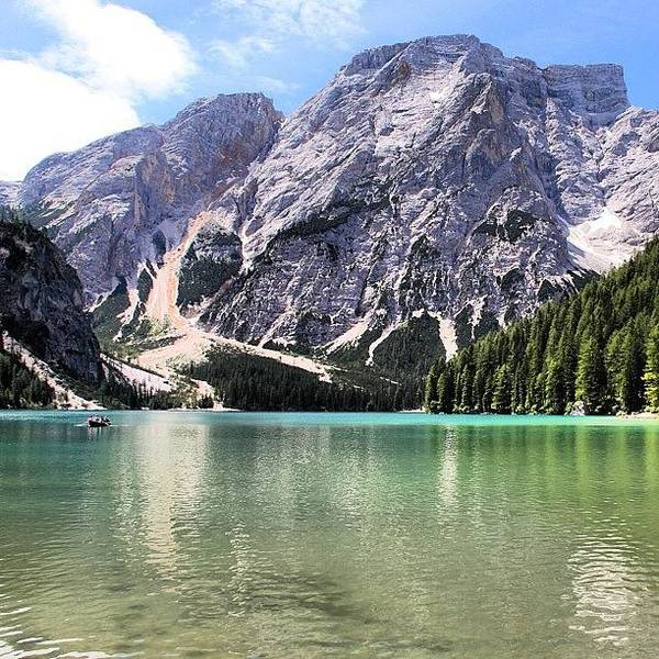 Italy Wall Art - Photograph - Lake Of Braies by Luisa Azzolini