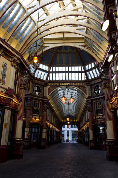 Square Mile Wall Art - Photograph - Leadenhall Market London by David Pyatt