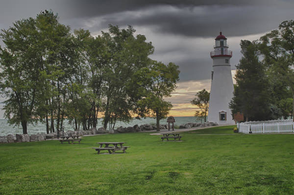 Art Print featuring the photograph Marblehead Lighthouse by At Lands End Photography