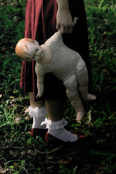 Hand Pump Photograph - Old Doll by Joana Kruse