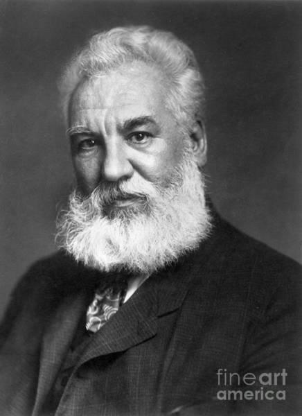 Photograph - Alexander Graham Bell by Granger