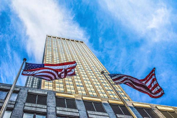 Photograph - American Flag by Theodore Jones