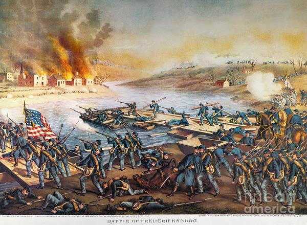 Allison Photograph - Battle Of Fredericksburg by Granger