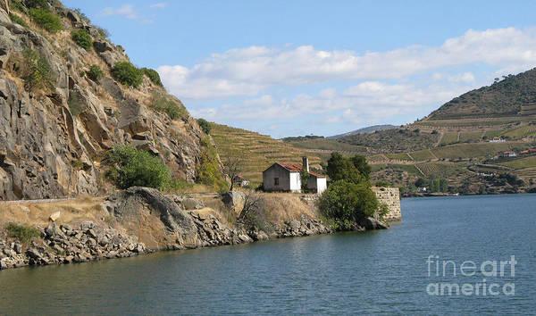 Douro River Valley Art Print