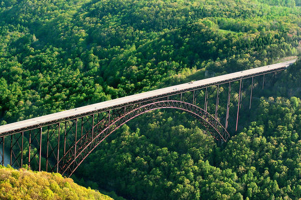 Base Jumping Photograph - New River Gorge Bridge by Mary Almond
