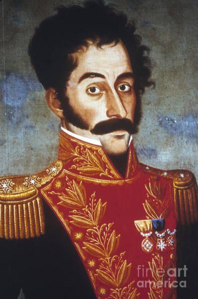 Photograph - Simon Bolivar (1783-1830) by Granger