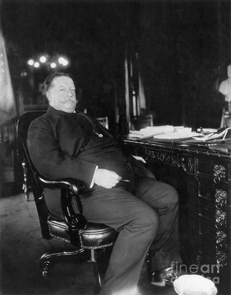 Photograph - William Howard Taft by Granger