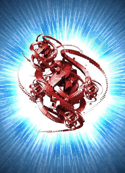 Malware Photograph - Computer Virus, Conceptual Artwork by Victor Habbick Visions